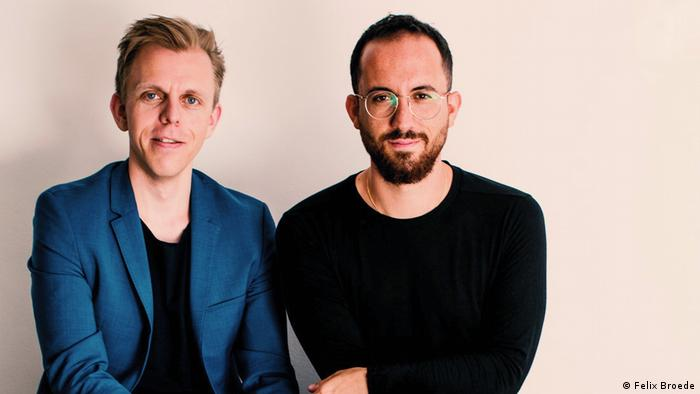 Florian Zinnecker and Igor Levit.