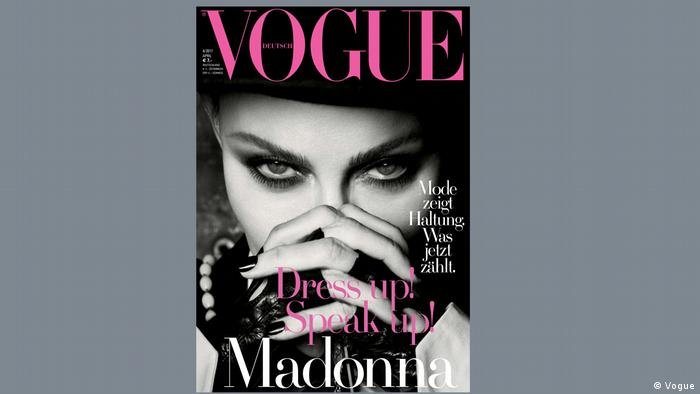 Madonna en la revista Vogue de Alemania