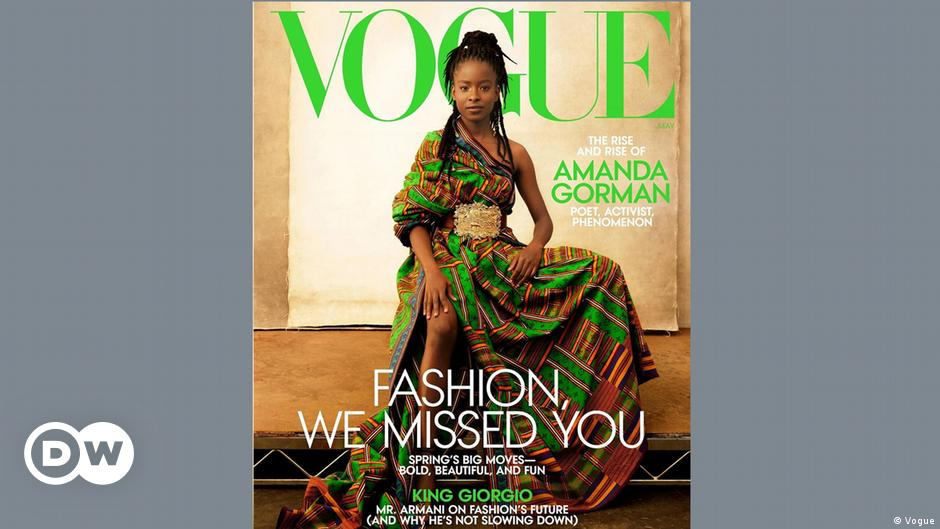 Amanda Gorman is first poet to grace Vogue cover