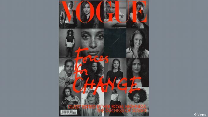 Portada del Vogue británico con mujeres que dejan huella por una razón u otra