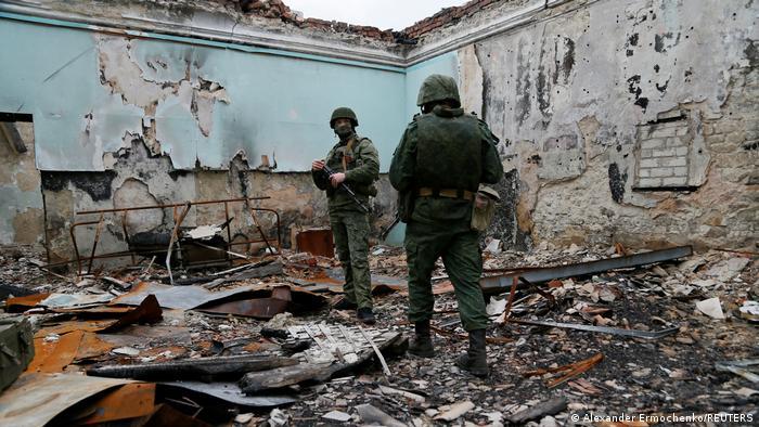 Militan dari Republik Rakyat Luhansk (LNR)