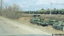 TABLEAU |Russland Maslovka |Konflikt in der Ostukraine |Panzer