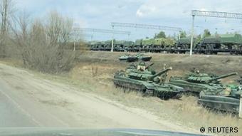 Російські війська біля кордонів України, квітень 2021 року