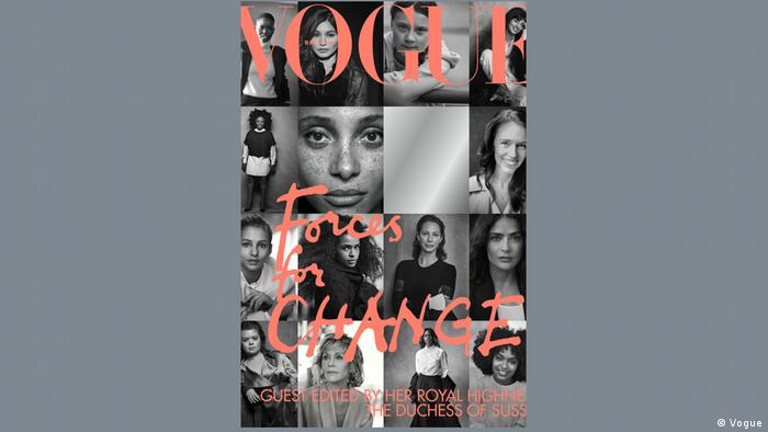 Forces for Change September Issue of Vogue UK.