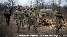 TABLEAU |Konflikt in der Ostukraine |Donezbecken |Wolodymyr Selenskyj, Präsident