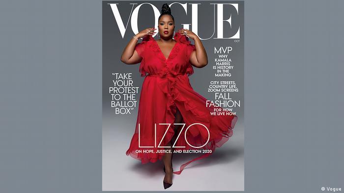 Bintang pop Lizzo di sampul Vogue