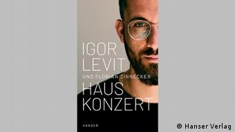 Book cover Hauskonzert by Igor Levit and Florian Zinnecker.