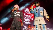 OutKast Hip Hop Duo | Konzert in Texas, USA