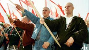 Neo-Nazi Demonstration in Leipzig