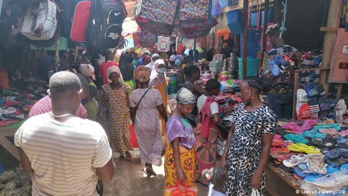 Um mercado em Bissau (Foto ilustrativa)
