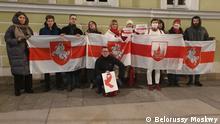 Russland Belarussen in Moskau