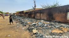 Niger | Brand einer Schule in Niamey
