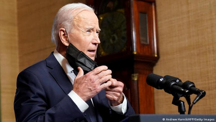 USA | Washington | Rede Präsident Joe Biden