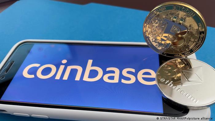 Coinbase und Ethereum