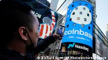 Coinbase listing on Nasdaq