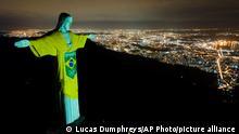 BdTD Brasilien   Christusstatue in Rio de Janeiro