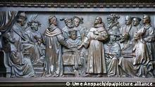 Deutschland Worms Lutherdenkmal