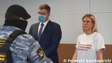 Russland Moskau | Navalny-Mitstreiterin Ljubov Sobol im Gericht