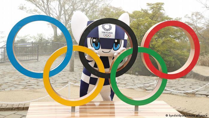 La mascota de los JJ.OO. de Tokio.