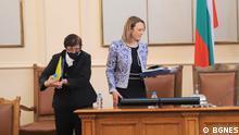 Bulgarien Die neue Vorsitzende des bulgarischen Parlaments Iva Miteva