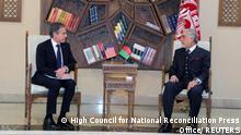 Afghanistan Antony Blinken trifft Abdullah Abdullah in Kabul