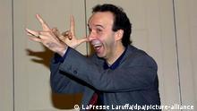 Roberto Benigni stellt «Pinocchio»-Film in Rom vor