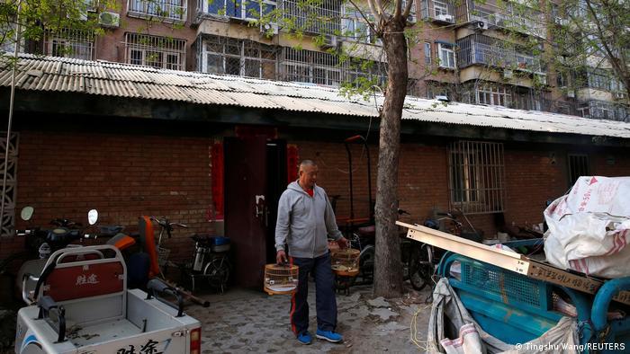 China | Senioren Bodybuilding in umgebautem Fahrradschuppen in Beijing