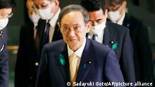 Japan US Premierminister Yoshihide Suga