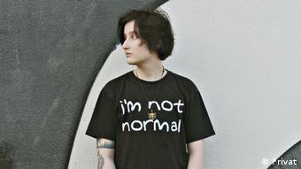Музыкант Женя Велько, ЛГБТ-активист из Беларуси