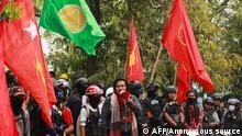 Wai Moe Naing Anführer der Protestbewegung in Myanmar