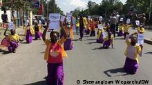 Addis Abeba, Ethiopia, 15.04.2021+++COVID-19 campaign in Hawassa city, Ethiopia, 15.04.2021 (c) Shewangizaw Wegayehu / DW