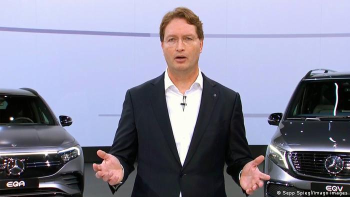 Der Vorstandsvorsitzende von Daimler, Ola Källenius