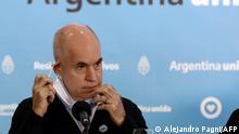 Argentinien Bürgermeister von Buenos Aires Horacio Rodriguez Larreta