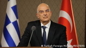 Türkei Griechenland Treffen Nikos Dendias und Mevlut Cavusoglu in Ankara