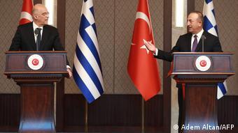 Η επεισοδιακή συνάντηση των δύο υπουργών στην Άγκυρα