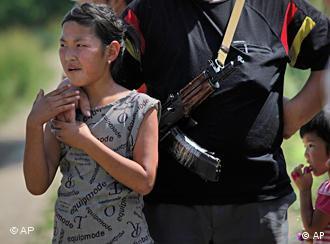 Во время межэтнических столкновений в июне 2010 года