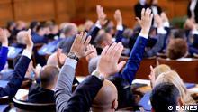 Bulgarien Die erste Sitzung des neu gewählten bulgarischen Parlaments