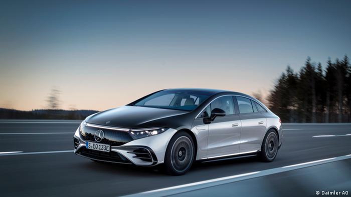 Der neue Mercedes EQS soll vor allem in China Käufer finden