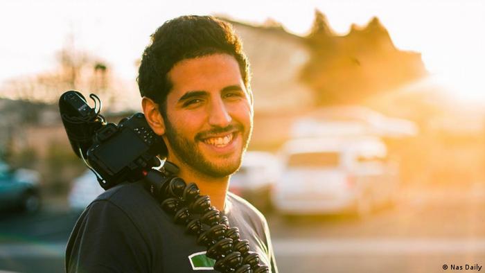 Nas Daily, Palestinian-Israeli video blogger