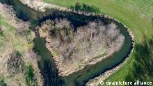 Deutschland BdT Flussinsel in Herzform
