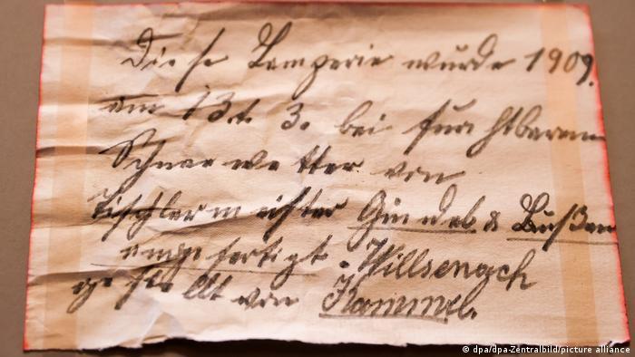 Послание потомкам, написанное 13 марта 1909 года