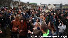 TABLEAU | Deutschland | Coronavirus dritte Welle | Kassel, Protest, gegen Maßnahmen