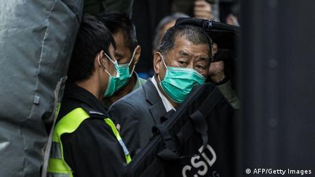 Hongkong Justiz-Verfahren gegen Opposition   Jimmy Lai