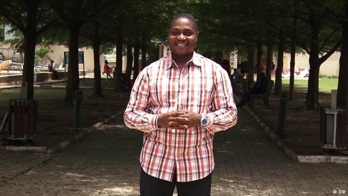 Eco Africa presenter Chris Ilems