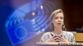 Anna Cavazzini, eurodiputada alemana, vicepresidenta de la Delegación para las Relaciones de la UE con Brasil