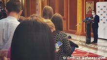 Rumänien Gesudheitsminister Vlad Voiculescu