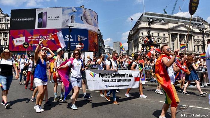 Polish Rainbow LGBT Londyn