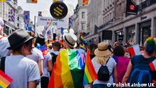 Polish Rainbow UK at Pride 2018, London - Photo by PolishRainbowUK