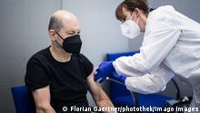 Deutschland | Coronavirus | Impfung Olaf Scholz