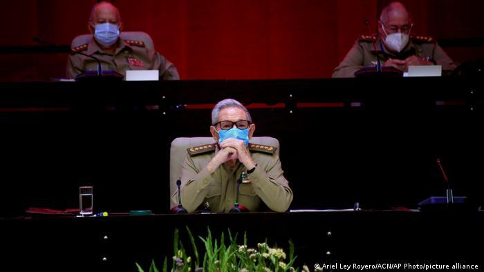 Kuba Eröffnungssitzung des VIII. Kongresses der Kommunistischen Partei